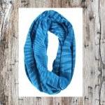 Blue Circle Scarf - Infini..