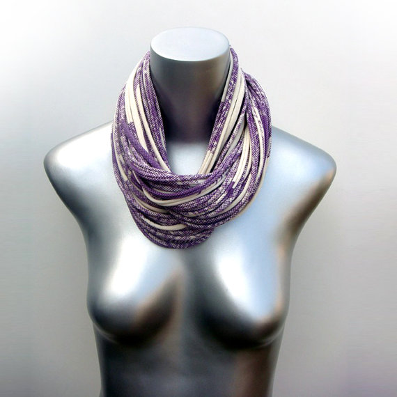 Scarf Purple Cowl Fabric Jewelry Winter Mens Womens Neck Scarves  Cowl Neck Scarves Men